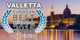 "Valletta als eine ""European Best Destination 2015"" nominiert"