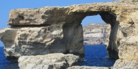 Azure Window & Fungus Rock