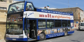 Hop on - Hop off - Malta Sightseeing Touren